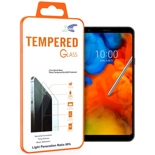 9H Tempered Glass Screen Protector for LG Q Stylus - Clear